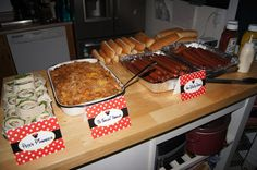 Food - Pete's Pinwheels, O'Toddles Noodles, Hot Diggity Dogs