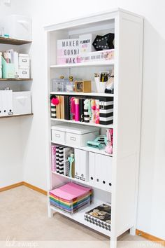Beauty Room, Sewing Rooms, Home Office Design, Home Office Decor, Diy Home Decor, House Design, Thrifty Decor, Room Organization, Storage Room