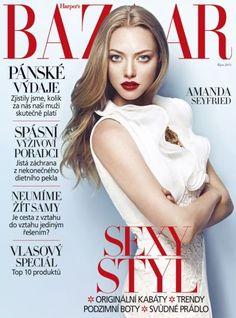 Amanda Seyfried - Harper's Bazaar Magazine Cover [Czech Republic] (October 2013)