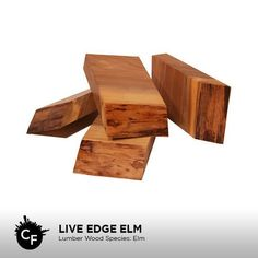 Live Edge Elm by ChicagoFabrications