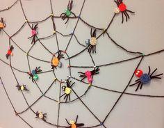 Virkatut hämähäkit ja verkko, 2.lk (Hanna Kallio / Alakoulun aarreaitta)