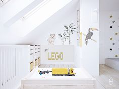 kids attic playroom/ bawialnia na poddaszu / lego Lego, Anna, Furniture, Home Decor, Decoration Home, Room Decor, Home Furnishings, Home Interior Design, Legos