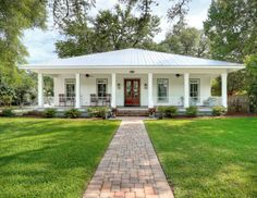 Best Curb Appeal Alert Breezy River House French Style 400 x 300