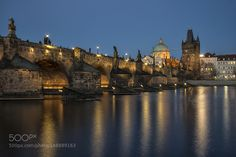 Charles Bridge Prague by ErenGrsoy #architecture #building #architexture #city #buildings #skyscraper #urban #design #minimal #cities #town #street #art #arts #architecturelovers #abstract #photooftheday #amazing #picoftheday