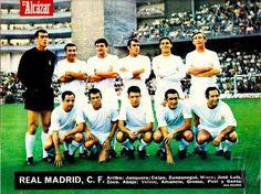 EQUIPOS DE FÚTBOL: REAL MADRID contra Atlético de Bilbao 15/10/1967