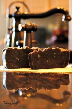 A Recipe for Kitchen Coffee Spice Bar Soap (recipe and tutorial)