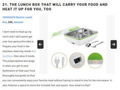 Amazon Gifts, Get Over It, Lunch Box, Bento Box