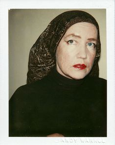 Little Edie Beale, Just the Pics Please: Andy Warhol's Polaroids | Hint Fashion Magazine
