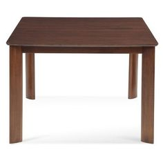 Saloom Furniture Ari Dining Table Finish: Chocolate, Table Top: Strata Top