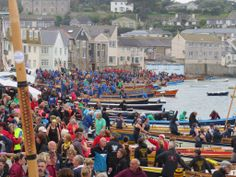 World Pilot Gig Championships, Isles of Scilly 2014.