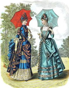Gravure de mode 1870-1880 (8)