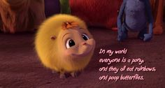 Katie from Horton hears a Who  Probably one of my favoraite quotes! :P