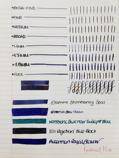 Ink Shot Review Diamine Shimmering Seas (3)