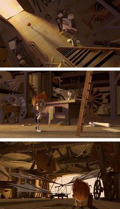 carlos zaragoza ▪ visual storytelling - MR. PEABODY & SHERMAN / 2014 / DreamWorks Animation / Visual Development Artist Leonardo da Vinci wo...