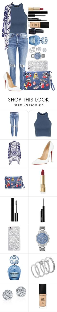 """Untitled #1376"" by fabianarveloc on Polyvore featuring H&M, Topshop, AFTERSHOCK, Christian Louboutin, Dolce&Gabbana, Chanel, MAC Cosmetics, Felony Case, GUESS and Marc Jacobs"