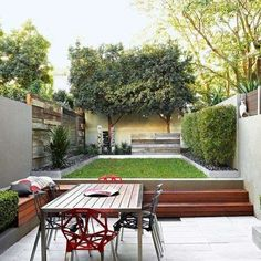 We have compiled the most important elements and ideas for your DIY garden design. Modern Garden Design, Home And Garden, Backyard Design, Small Gardens, Small Backyard, Urban Garden Design