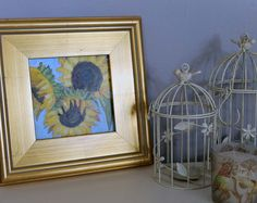 Browse unique items from MyArtAdventures on Etsy, a global marketplace of handmade, vintage and creative goods. Floral Paintings, Abstract, Unique Jewelry, Handmade Gifts, Frame, Creative, Etsy, Vintage, Home Decor