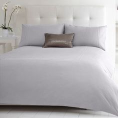 J by Jasper Conran Designer grey 'Audley' bedding set- at Debenhams.com