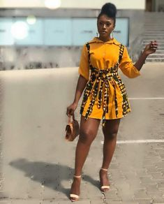 Linda Osifo is pretty much a stunner when it comes to fashion especially in African print dress styles. I have compiled african print styles that have been worn African Inspired Fashion, Latest African Fashion Dresses, African Print Dresses, African Dresses For Women, African Print Fashion, Africa Fashion, African Wear, African Attire, Look Fashion