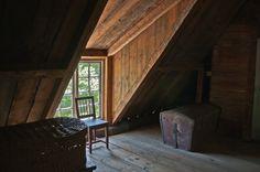 Kivalterin talo: yläkerta