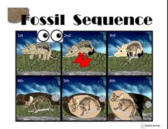 Fossil Formation Sequence from Inspired by Evan Autism Resources Video Preview.