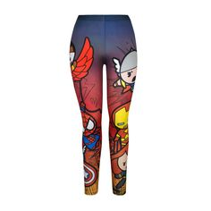 Chibi Avengers Leggings