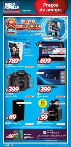 Newsletter - Tudo mais barato!    http://www.radiopopular.pt/newsletter/2012/100/