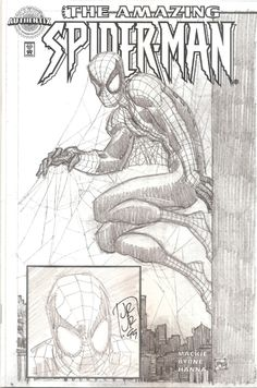 Amazing Spider-Man Authentix #1 - John Romita, Jr. Comic Art