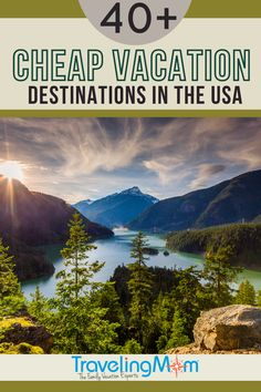 These budget-friendly family vacation destinations are easy on the wallet without sacrificing travel plans! For families looking at a staycation, weekend getaway, road trip or short flight, these are the US destinations for anyone looking for cheap trips. This Traveling Mom has researched across the United States so there's sure to be perfect travel spot that will fit your family and budget including free activities, indoor & outdoor locales and entertainment for all ages, including Disney! Cheap Vacation Destinations, Cheap Family Vacations, All Family, Family Travel, Family Budget, Cheap Trips, Budget Travel, Travel Tips, Visit Usa