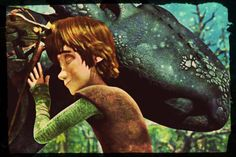 Hiccup and Toothless. These two <3