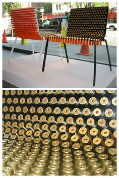 #Chair, #Furniture, #Shells, #Shotgun, #Upcycled