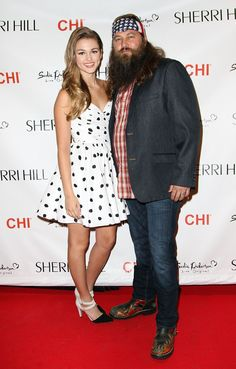 Sadie and Willie Robertson
