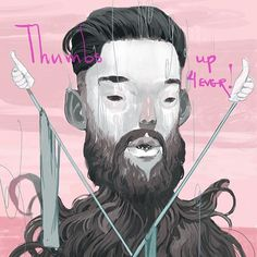 Thumbs Up! 4ever art by Andrew Hem
