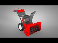 About how a snowblower works & how to keep it running well.