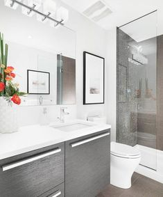 Awesome Ideas for Small Modern Bathrooms