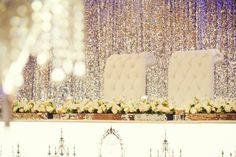 Bridal Table Arrangement by WED on Beaufort