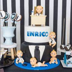 Resultado de imagem para bolo do poderoso chefinho Karina bacchi