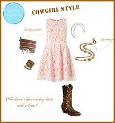 Country girl fashion sense!