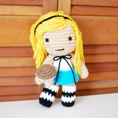 Check out this item in my Etsy shop https://www.etsy.com/listing/150913547/alice-inspired-crochet-amigurumi-plush