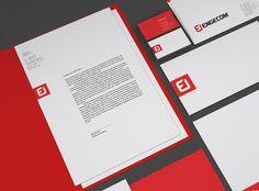 Engecom Branding by Brbauen
