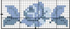 Mini Cross Stitch, Cross Stitch Rose, Cross Stitch Borders, Cross Stitch Patterns, Bordados E Cia, Fair Isle Knitting, Peyote Stitch, Designs To Draw, Beading Patterns