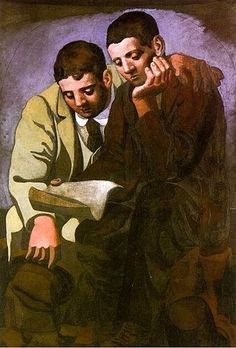 Reading The Letter 1921    Pablo Picasso