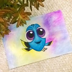 Speed Drawing #BabyDory 🐠 ✨ the time lapse in: http://youtu.be/mlTOAVkGewE ... I hope you like it 😁 #art #arte #draw #drawing #dibujo #paint #painting #pintar #pintura #design #diseño #illustration #ilustración #sketch #color #colorpencil #colors #artwork #artdaily #instapic #artoftheday #instaart #creative #babydory #speeddrawing #youtube