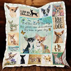 Chihuahua Pet Blanket, Chihuahua Lover's Gifts, Dog Lovers Gift - Medium (50x60) / Fleece