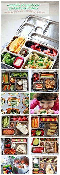A month of Healthy Lunchbox Ideas | Yummy Mummy | Bloglovin'