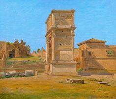 Constantin Hansen, «The Arch of Titus in Rome»