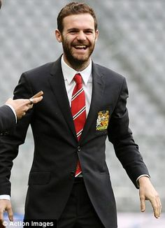 Smiles better: Juan Mata