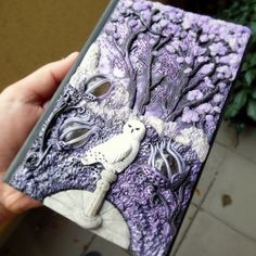 polymer clay book cover - Google Search