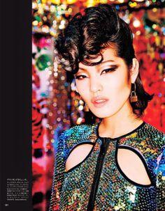 Vogue Japan July 2014 | Chiharu Okunugi + More by Ellen Von Unwerth  [Editorial]