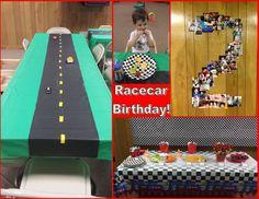 Budget-Friendly Racecar Birthday Party - Frankenstan